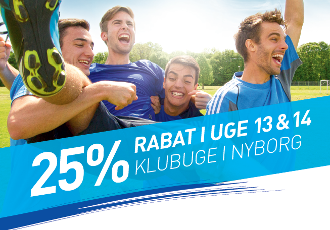 Klubuger i INTERSPORT Nyborg